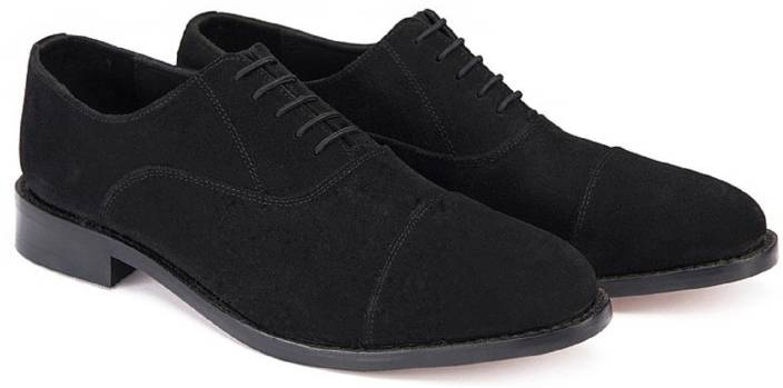 8da99423905836 Bag Jack Classic Oxford-toe cut-handcrafted-leather sole-black color leather  shoe Lace Up For Men (Black)