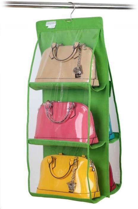 Clothing & Wardrobe Storage Hanging Organizers Storage For Purse Handbag Organizer Shoes Tote Bag Storage Organizer Pocket Hangers Home Closet Organizer Dr