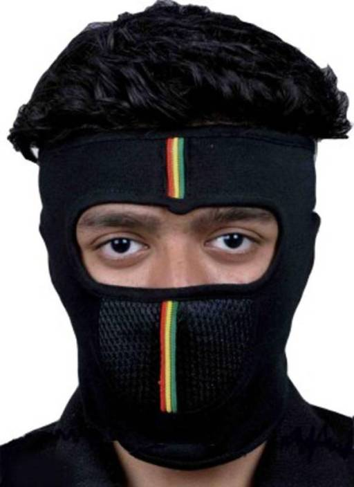 Bizinto Black Bike Face Mask for Boys 7 Grils (Size: Free, Balaclava) Mask