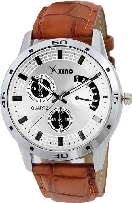 Xeno Latest Fashionable White Designer New Look Stylish Titanium Boys Watch  - For Men