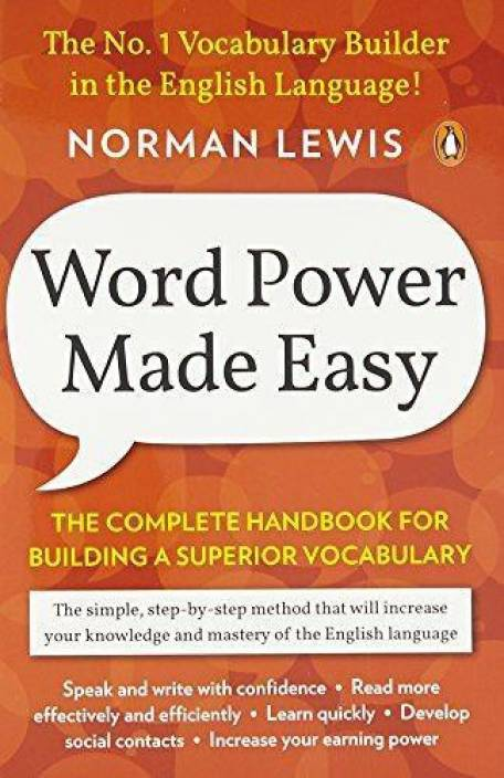 b514b000a7d Word Power Made Easy - The Complete Handbook for Building a Superior  Vocabulary (English