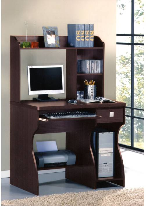 innovative design bf32a f6403 Woodness Geneva Engineered Wood Computer Desk
