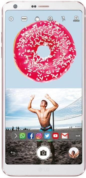 LG G6 (White, 64 GB)