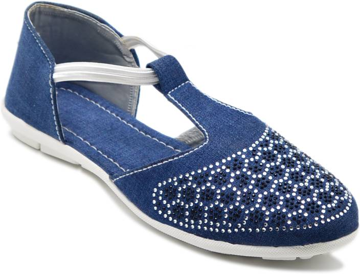 Myra Pearls Embroidery Bellies For Women