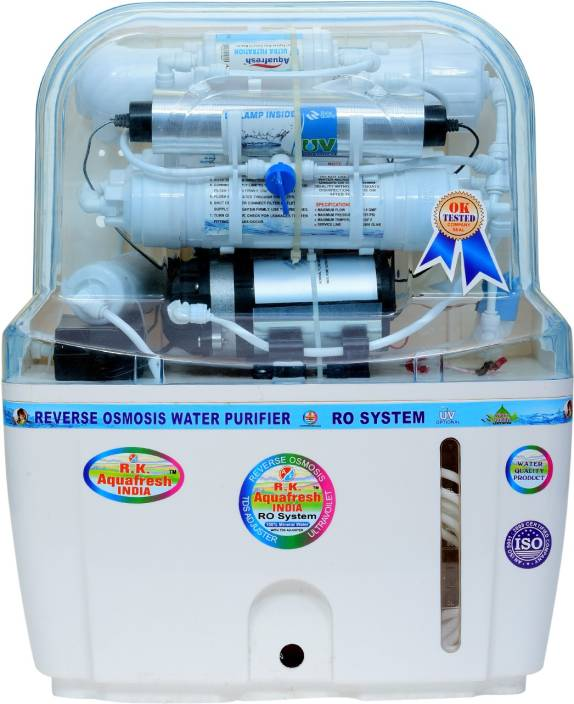 Rk Aquafresh India Swift Plus 12 Ltrs 14stage 12 L RO + UV + UF Water  Purifier