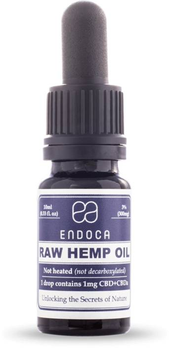 Endoca Hemp Oil Hemp Oil (CBD 3%)