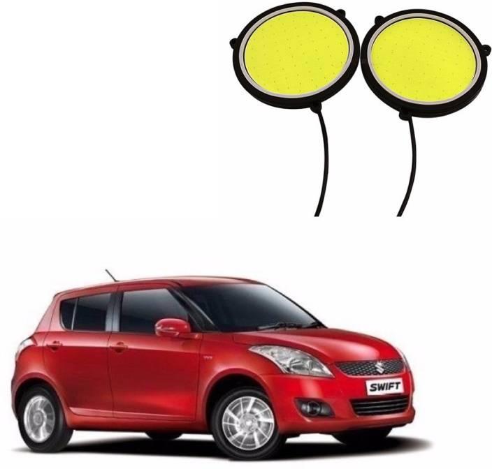 Auto Garh Round DRL Fog Lamp, Backup Lamp, Interior White led For