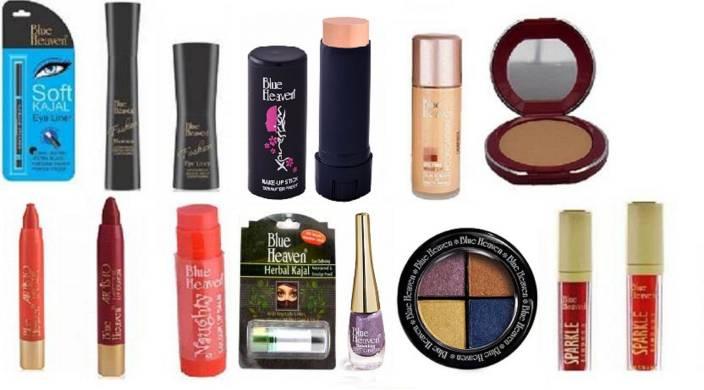 Blue Heaven bridal makeup essential set of 14 (Set of 14)