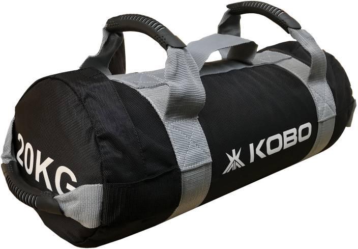 1d8f4631c1e6 Kobo 20 Kg Sandbag Adjustable Weight Power Training Filled Fitness Cross  Functional Exercise Running Workout Sand-Bag (IMPORTED) Black Bulgarian Bag Power  ...