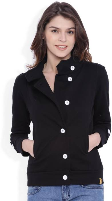 625bddf45 Campus Sutra Full Sleeve Solid Women Jacket