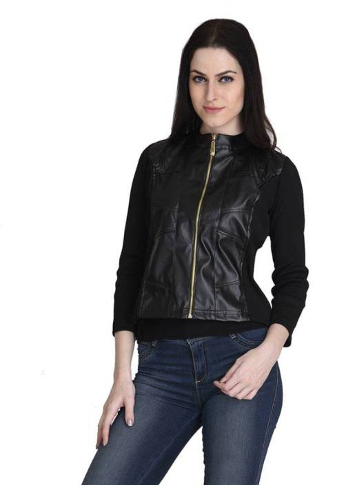 Raabta Fashion Full Sleeve Solid Women s Jacket - Buy Black Raabta Fashion  Full Sleeve Solid Women s Jacket Online at Best Prices in India  4130bece8