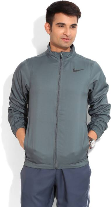 9c6845b34be Nike Full Sleeve Solid Men's Sports Jacket