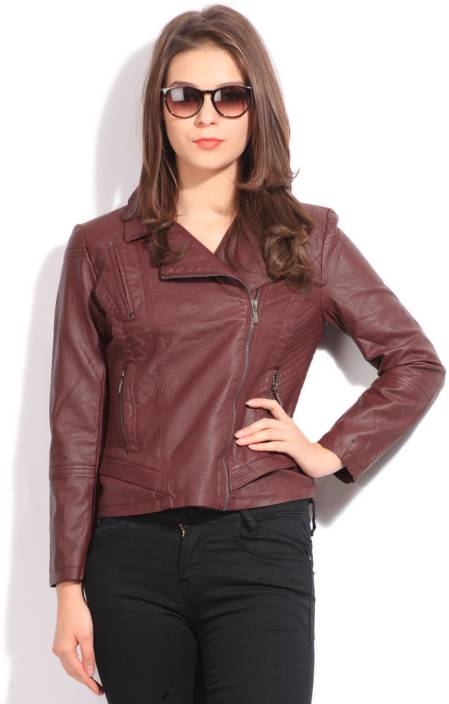 Elle Full Sleeve Solid Women s Jacket - Buy RED Elle Full Sleeve Solid Women s  Jacket Online at Best Prices in India  f50d37ce6