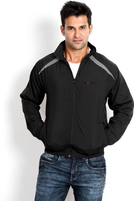 Rodid Full Sleeve Solid Men's Bomber Jacket