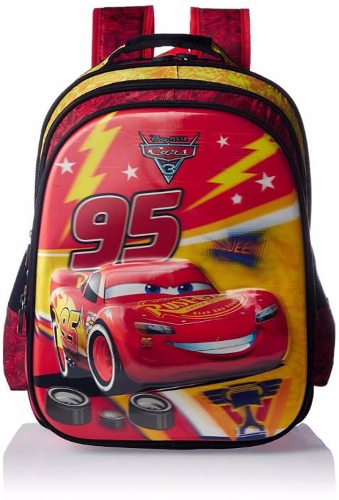 7984c6632ae Disney Cars 3 Mcqueen 95 School Bag 14 Inches Waterproof School Bag  (Multicolor