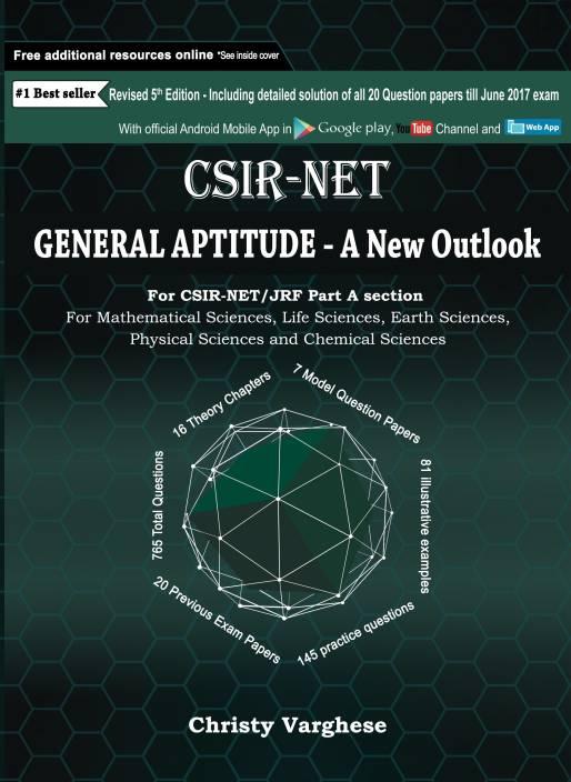 CSIR-NET General Aptitude - A New Outlook