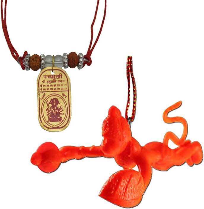 DivyaMantra Sri Panchamukhi Hanuman Kawach Yantra Locket and