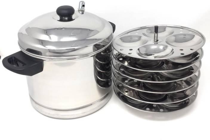Premium 6-Plates Idly Cooker Induction & Standard Idli Maker
