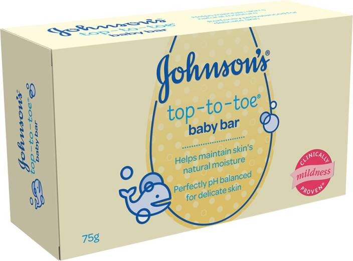 Johnson's Top to Toe Baby Bar