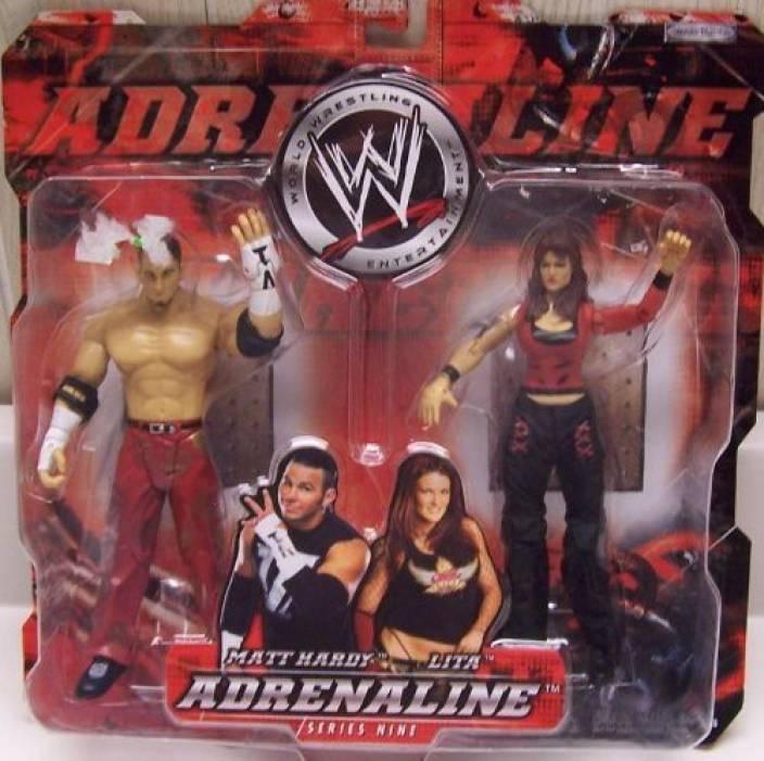 WWE Adrenaline Series 9 Matt Hardy & Lita Action Figure 2 Pack