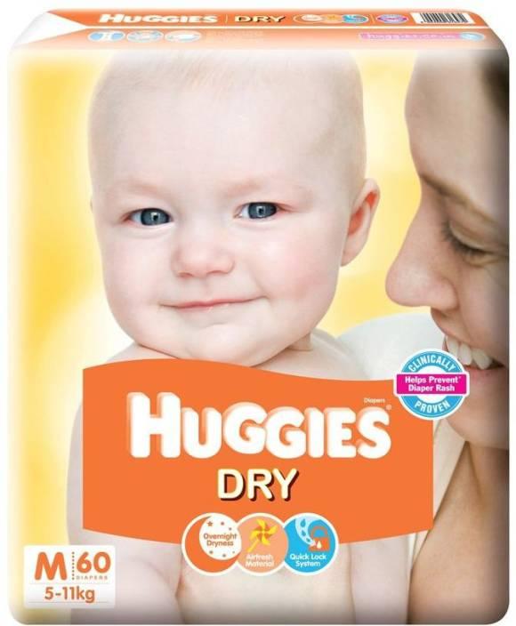 Huggies New Dry - M