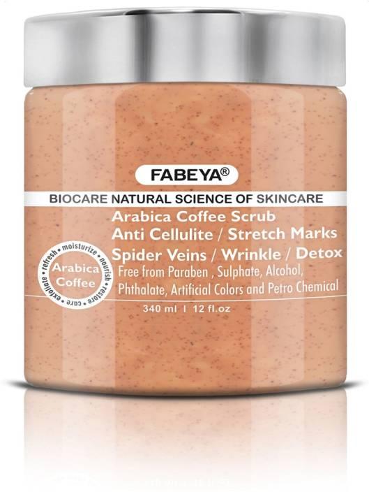 Fabeya BioCare Arabica Coffee  Scrub