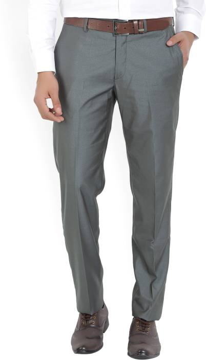 John Players Skinny Fit Mens Grey Trousers