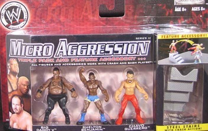 Generic Chavo Guerrero Big Daddy V Shelton Benjamin Micro