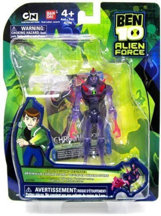 ben 10 alien force 4 inch action figure chromastone defender alien