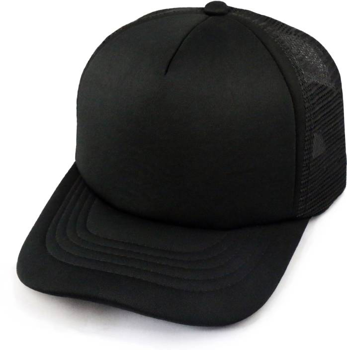 8e365519fb9 GVC Solid Plain Black Half Net Cap - Buy GVC Solid Plain Black Half Net Cap  Online at Best Prices in India