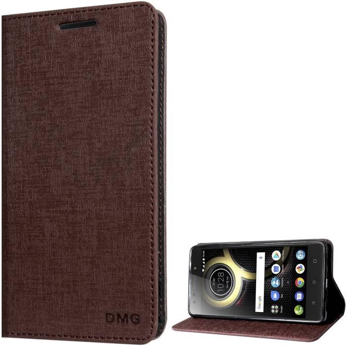 DMG Flip Cover for Lenovo K8 Note