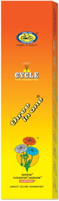 Cycle Pure Three in One Agarbattis