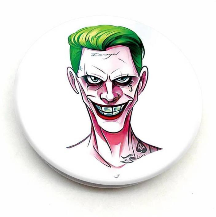Crazyink Suicide Squad Joker Face Mobile Holder Price In