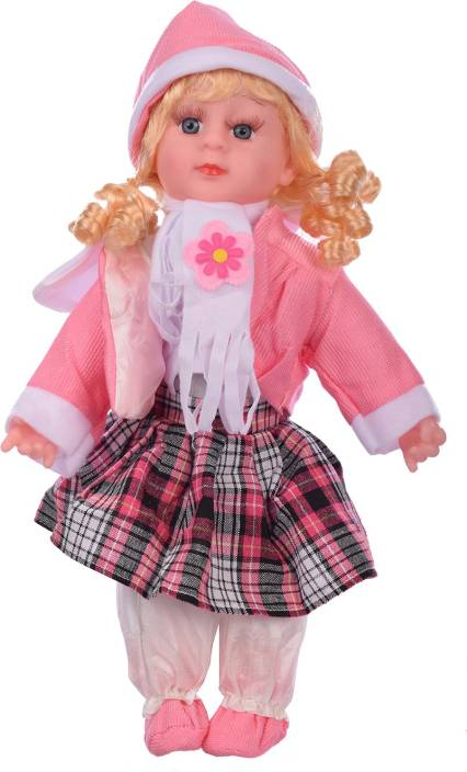 Aarushi Doll Stuffed Soft Plush Toy Girl Doll (Pink) - Doll Stuffed ... 076089a081