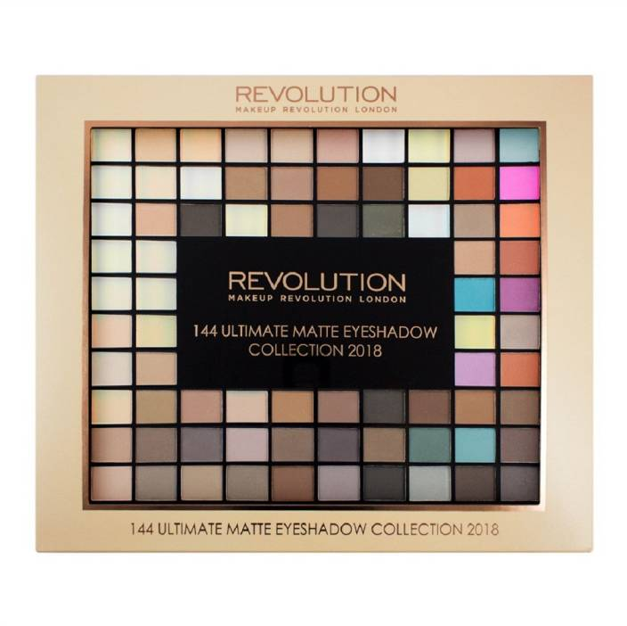 Makeup Revolution Ultimate 144 Eyeshadow Palette Matte 2018 116 g (Multicolor)