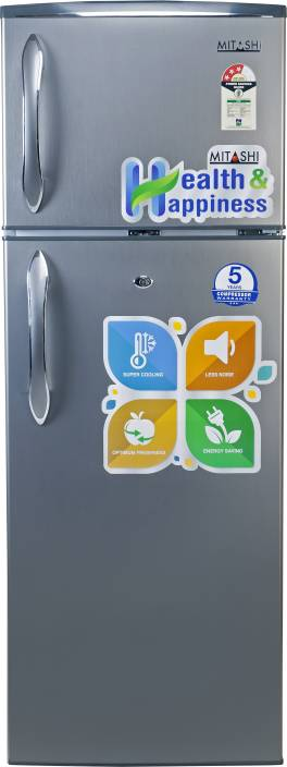 Mitashi 240 L Direct Cool Double Door Refrigerator