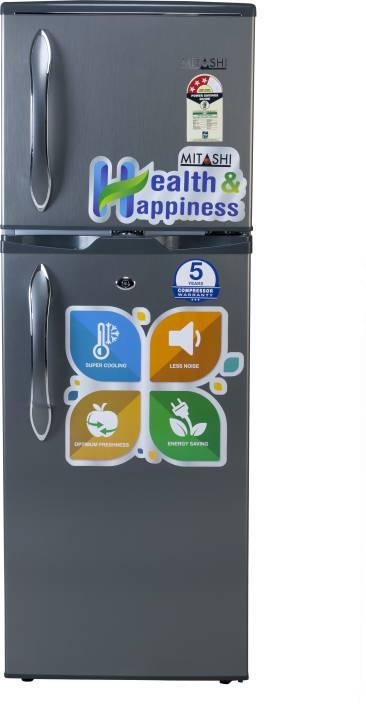 Mitashi 145 L Direct Cool Double Door Refrigerator