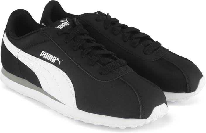 Puma Turin NL Sneakers For Men - Buy Puma Black-Puma White Color ... fe58459f5