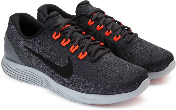 Nike LUNARGLIDE 9 Running Shoes For Men - Buy ANTHRACITE BLACK-COOL ... fb934f7fe
