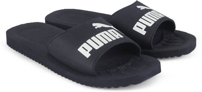 1bf6ff14bdfc Puma Purecat Slides - Buy peacoat-white Color Puma Purecat Slides Online at  Best Price - Shop Online for Footwears in India