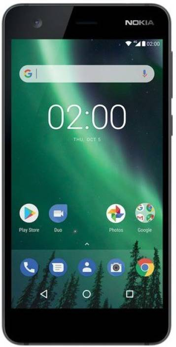 Nokia 2 (Pewter/ Black, 8 GB)