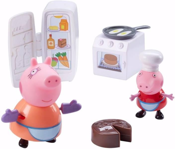Peppa Pig Kitchen Set Playset Kitchen Set Playset Buy Peppapig