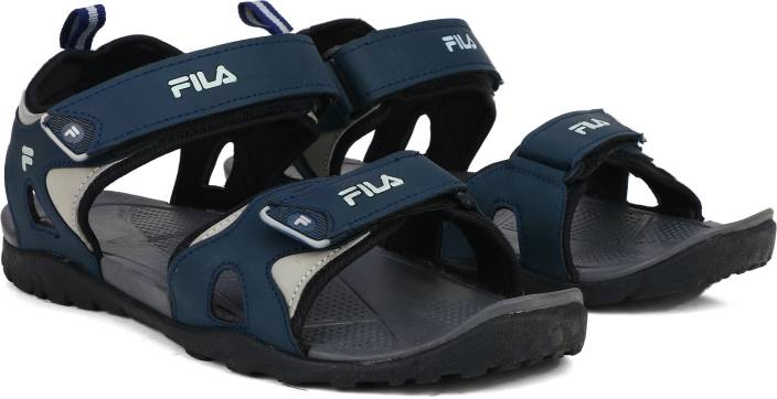 68f095dc4 Fila Men GRY NVY Sandals - Buy GRY NVY Color Fila Men GRY NVY Sandals  Online at Best Price - Shop Online for Footwears in India