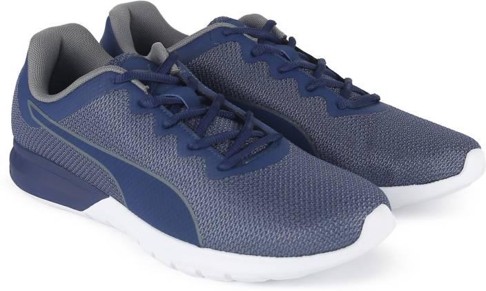 Puma Vigor Running Shoes For Men - Buy Blue Depths-QUIET SHADE Color ... 2c0a706d7