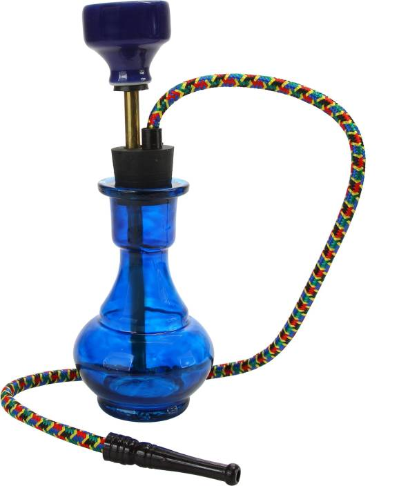 pegs'N'pipes Econo 10 inch Glass, Brass Hookah