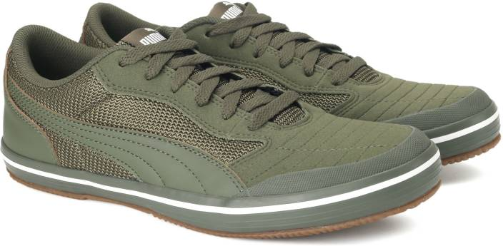 dbe11d4910b7a1 Puma Astro Sala Sneakers For Men - Buy Olive Night-Olive Night Color ...