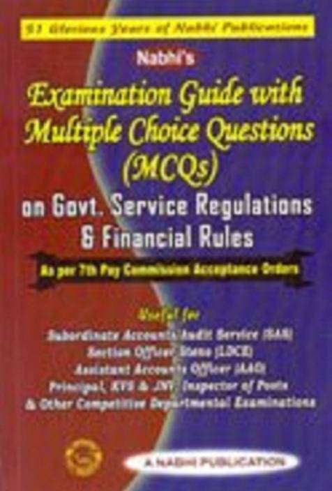 Nabhi's Examination Guide with Multiple Choice Questions (MCQs) on