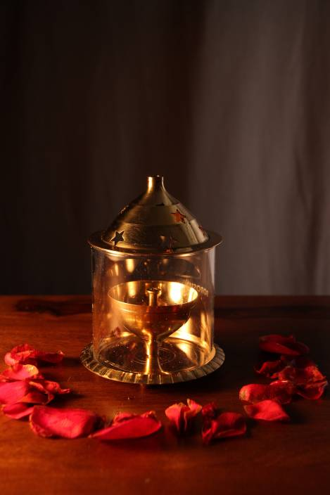 Borosil Akhand Brass Table Diya