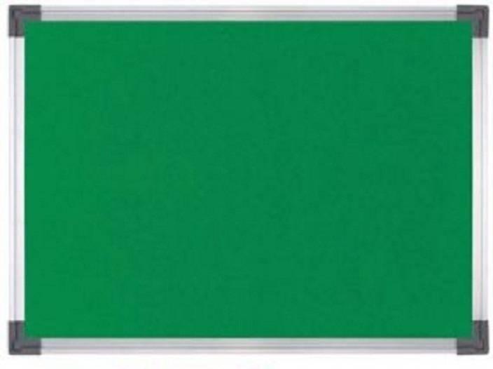 5b25131ba48a WRITOMAX Notice board or Pin up board Green Small 1.5  foot x 1  foot