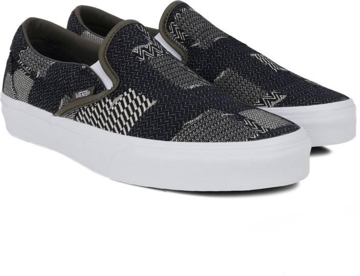 883a3f44ce0ae2 Vans Canvas Shoes For Men - Buy (DENIM PATCHWORK) NAVY TRUE WHITE ...